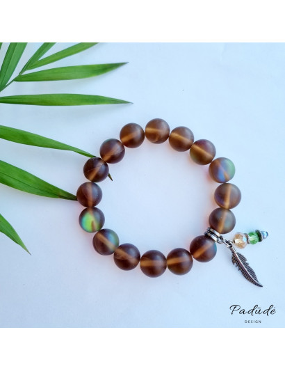 "Bracelet ""Brown dream"""
